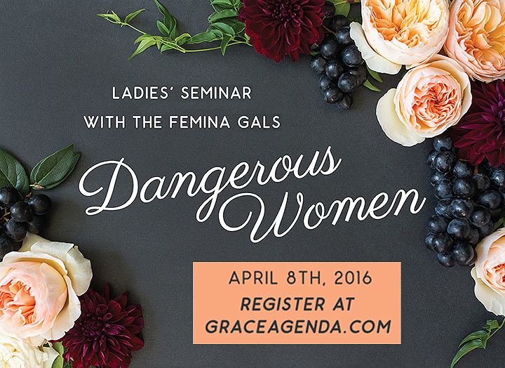 Dangerous Women Pre-Conference Seminar